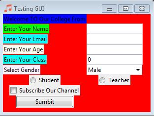 How to Create GUI App In Python