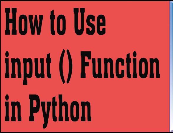 python keyboard input Archives - Master Programming Language