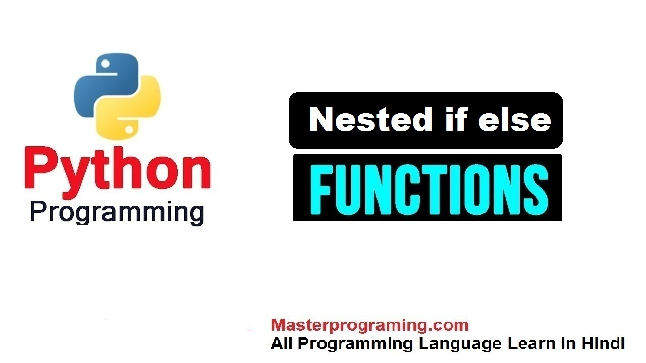 nested if else hindi python