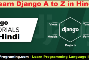 Python Django In Hindi
