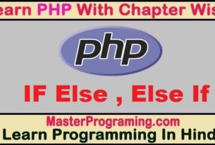 PHP If Else And Else If